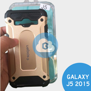 Samsung Galaxy J500 J5 2015   Spigen Iron Armor Shockproof Hard Case