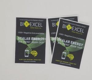 Stiker anti radiasi Bioexcel | anti-radiasi ion negatif
