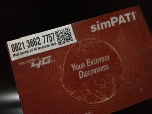 Kartu Perdana Nomor Cantik Simpati 4G 0821 366 277 57 58 Maju Mapan