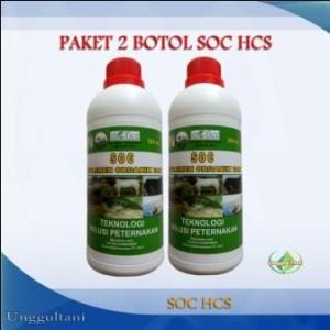 PROMO SOC HCS Paket Super Hemat 2 Botol Suplemen Untuk Ternak