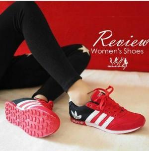 Sepatu   Boots   Sandal   Sepatu Wanita Kets Spon Adidas Merah c265a24fab