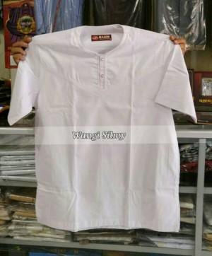 Jual Baju Koko Lengan Pendek, Baju Koko Putih Polos, Baju