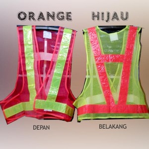 Rompi Jaring Safety Vest Kerja Proyek V Guard Scotlight Scotlite Murah