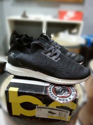067e97baf27fd 2017 online a4e1f 9a7ec Sepatu Sport Adidas ULTRA BOOST Uncaged Black White  Original ...