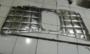KIA CarnivaL diesel insulator silver alum hood