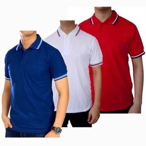 Kaos Polo Shirt Polo Polos Baju Kerah Pria Kaos Kerah Polos