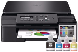 Printer BROTHER DCP T300 InkJet Multifungsi Performa Super Efisien .
