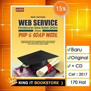 Jual buku web service php dan soap wsdl roki aditama king it buku web service php dan soap wsdl roki aditama ccuart Image collections