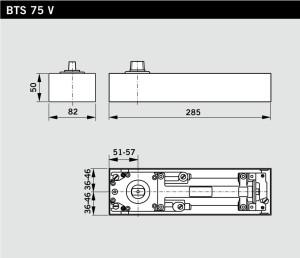 DORMA BTS 75V FIXED HOLD OPEN EN 1-4