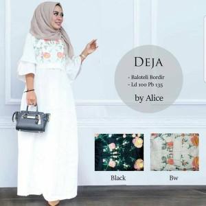 Busana Muslim Wanita Deja Dress Terlaris Keren