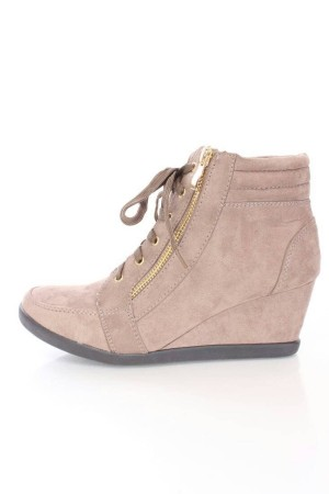 sepatu wanita casual zumba sneaker wedges kets boots heels nike