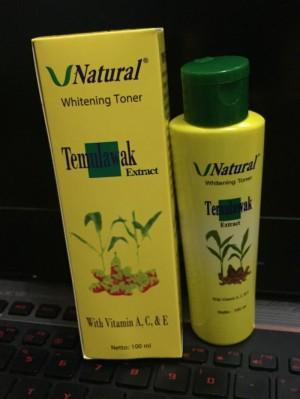TONER TEMULAWAK VNATURAL BPOM / V NATURAL FACE TONER ORIGINAL