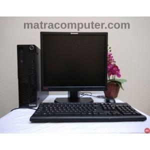 """Paket komputer lenovo core i5 m72e - LCD 19"""" square - keyboard mouse"""