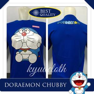 Jual Kaos Distro Baju Murah Anime Film Kartun Doraemon Chubby