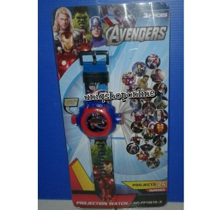 Projection Watch Avengers. Projects 24 Images