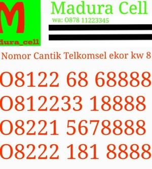 Nomor cantik Telkomsel Simpati kw 8 08122 68 68888 Super keren