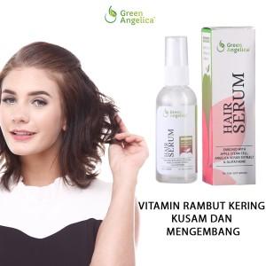 Green angelica anti dht vitamin penumbuh rambut dan vitamin rontok