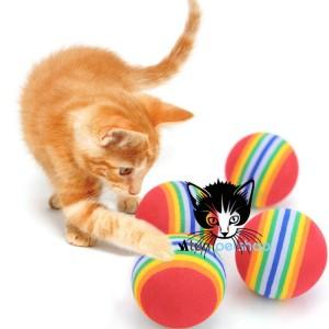 Mainan Kucing Bola Elastis