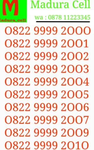 Telkomsel Simpati Nomor Cantik 0822 1000 8825 Daftar Harga Terkini Source · Nomor Cantik Telkomsel Simpati