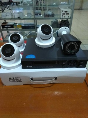 PAKET CCTV 4 CHANNEL FULL HD 2MP