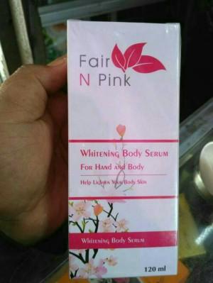 FAIR N PINK WHITENING BODY SERUM 120ML