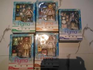 Figma Se- Kirara Complete Set