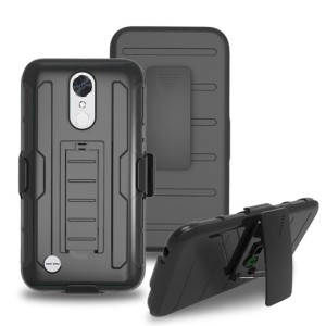 FUTURE ARMOR LG K10 2017 hard soft case casing belt clip back cover hp