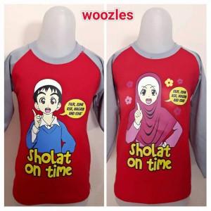 Kaos anak Muslim Woozles