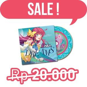 CD Musik Rinka Dreams Single