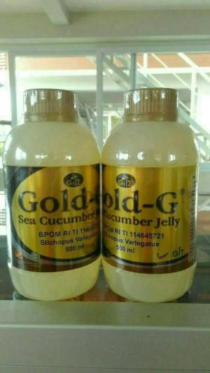Gold G cucumber Original isi 500ml