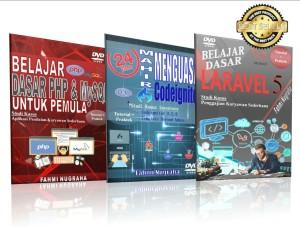 DVD PHP MYSQL,CODEIGNITER DAN LARAVEL