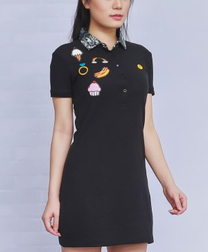 Dress Badges Black Seri 1