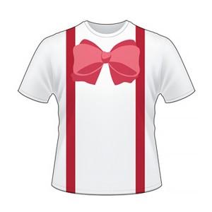 T-shirt Kostum Dasi Reon Kaos