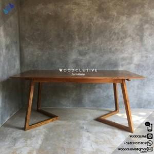 deko furniture. Meja Makan Deko Kayu Jati Furniture
