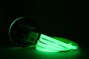 Sticker Fosfor Bercahaya Glow in The Dark 1cmx10m