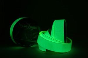 Sticker Fosfor Bercahaya Glow in The Dark 2.5cmx10m