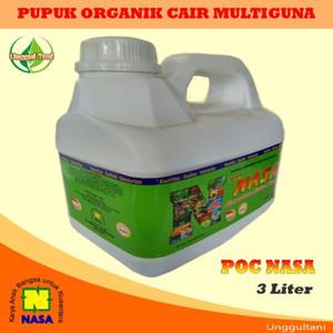 Pupuk Organik Cair (Poc) Nasa 3 Liter