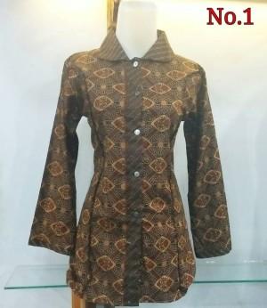 Kemeja batik wanita | Blouse batik | Atasan batik