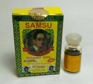 SAMSU OIL asli