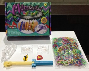 Rainbow Loom Band - Bands LOOMBAND LOOMBANDS Starter Kit MONTER TAIL