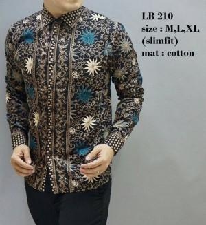 Baju  Pria  / Kemeja Batik  Slimfit / Baju Pesta / Baju Keluarga TOP1