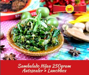 Sambal Hijau Padang- Sambalado Hijau - Sambel Padang