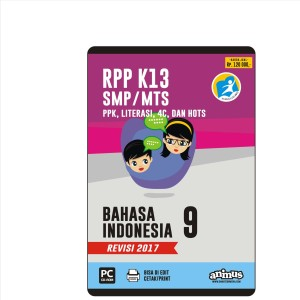 ANIMUS  RPP K13 KELAS 9  BAHASA INDONESIA  REVISI 2017