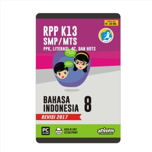ANIMUS  RPP K13 KELAS 8  BAHASA INDONESIA   REVISI 2017