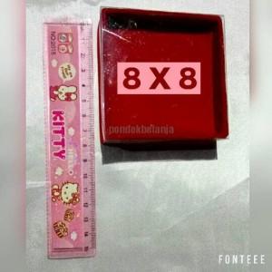Box Perhiasan Bludru (8 x 8)
