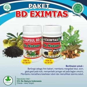 de Nature - Kapsul Bersih Darah BD dan Eximtas - Obat Herbal Asli