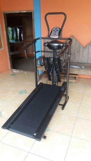 TREADMILL  6 FUNGSI MANUAL ( TL004 )