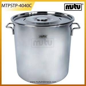 Stock Pots 46 Liter Stainless Steel - MTPSTP-4040C