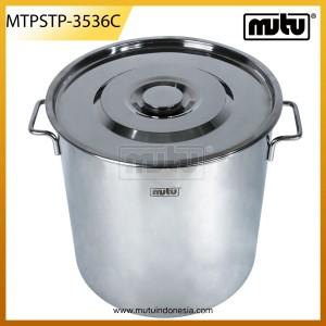 Stock Pots 32 Liter Stainless Steel - MTPSTP-3536C
