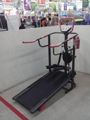 Treadmill manual tl-003 5 fungsi total fitness